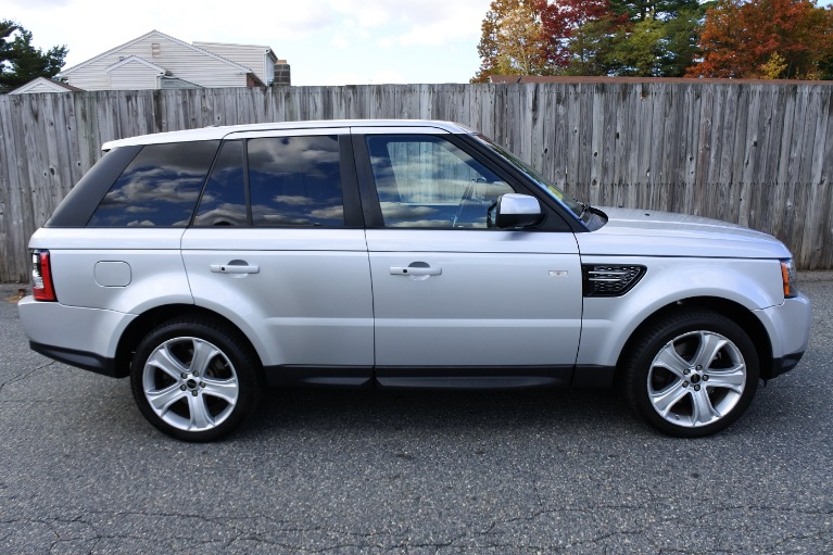Used 2012 Land Rover Range Rover Sport HSE LUX Used 2012 Land Rover Range Rover Sport HSE LUX for sale  at Metro West Motorcars LLC in Shrewsbury MA 6