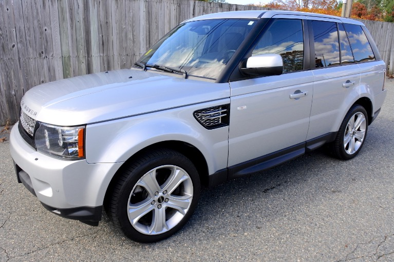 Used Used 2012 Land Rover Range Rover Sport HSE LUX for sale $15,800 at Metro West Motorcars LLC in Shrewsbury MA