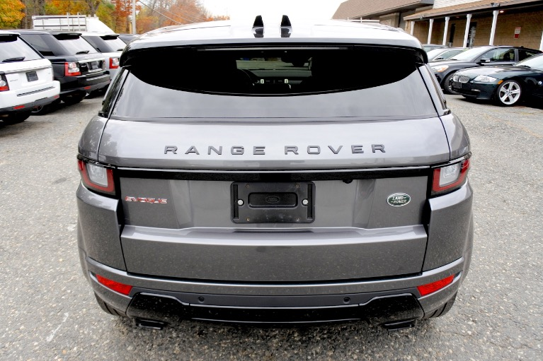 Used 2017 Land Rover Range Rover Evoque HSE Dynamic Used 2017 Land Rover Range Rover Evoque HSE Dynamic for sale  at Metro West Motorcars LLC in Shrewsbury MA 4