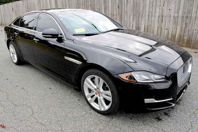 Used 2017 Jaguar Xj XJL Portfolio AWD Used 2017 Jaguar Xj XJL Portfolio AWD for sale  at Metro West Motorcars LLC in Shrewsbury MA 7
