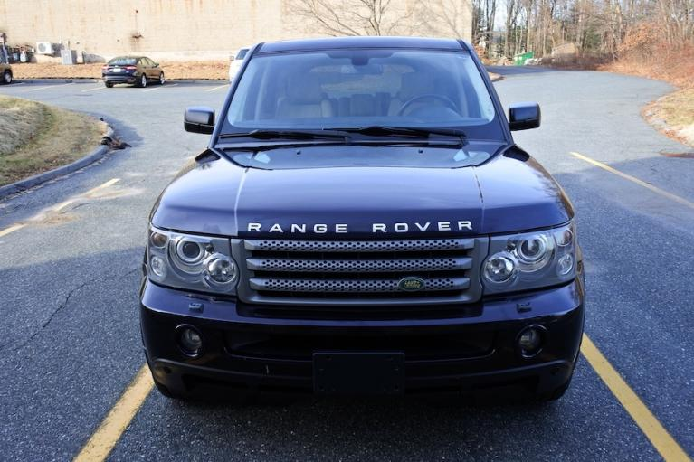 Used 2009 Land Rover Range Rover Sport HSE Used 2009 Land Rover Range Rover Sport HSE for sale  at Metro West Motorcars LLC in Shrewsbury MA 2