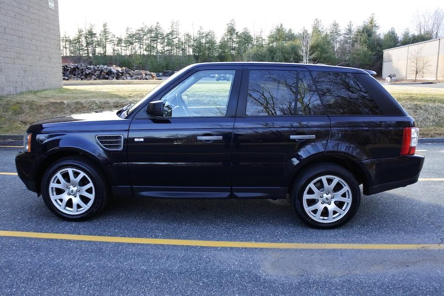 Used 2009 Land Rover Range Rover Sport HSE Used 2009 Land Rover Range Rover Sport HSE for sale  at Metro West Motorcars LLC in Shrewsbury MA 3
