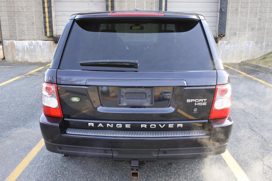Used 2009 Land Rover Range Rover Sport 4WD 4dr HSE Used 2009 Land Rover Range Rover Sport 4WD 4dr HSE for sale  at Metro West Motorcars LLC in Shrewsbury MA 5