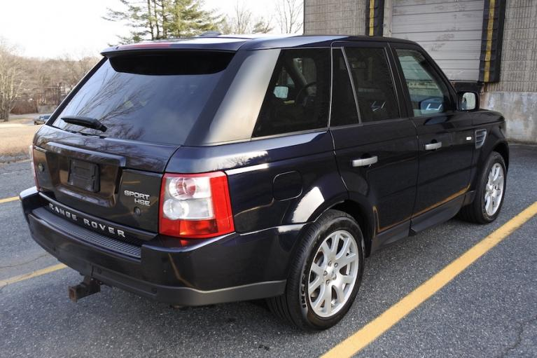 Used 2009 Land Rover Range Rover Sport HSE Used 2009 Land Rover Range Rover Sport HSE for sale  at Metro West Motorcars LLC in Shrewsbury MA 6