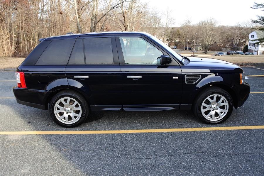 Used 2009 Land Rover Range Rover Sport HSE Used 2009 Land Rover Range Rover Sport HSE for sale  at Metro West Motorcars LLC in Shrewsbury MA 7