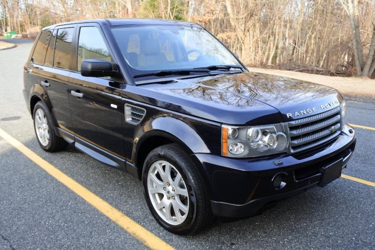 Used 2009 Land Rover Range Rover Sport HSE Used 2009 Land Rover Range Rover Sport HSE for sale  at Metro West Motorcars LLC in Shrewsbury MA 8