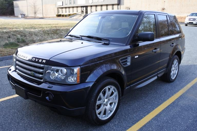 Used 2009 Land Rover Range Rover Sport HSE Used 2009 Land Rover Range Rover Sport HSE for sale  at Metro West Motorcars LLC in Shrewsbury MA 1