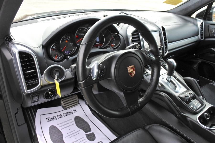 Used 2014 Porsche Cayenne Turbo AWD Used 2014 Porsche Cayenne Turbo AWD for sale  at Metro West Motorcars LLC in Shrewsbury MA 13