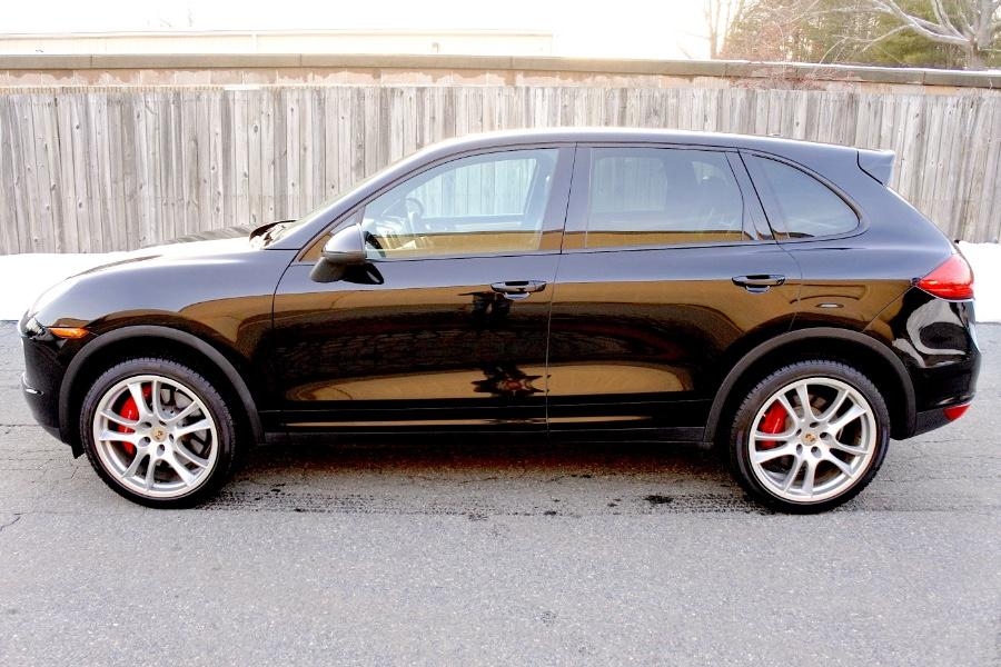 Used 2014 Porsche Cayenne Turbo AWD Used 2014 Porsche Cayenne Turbo AWD for sale  at Metro West Motorcars LLC in Shrewsbury MA 2