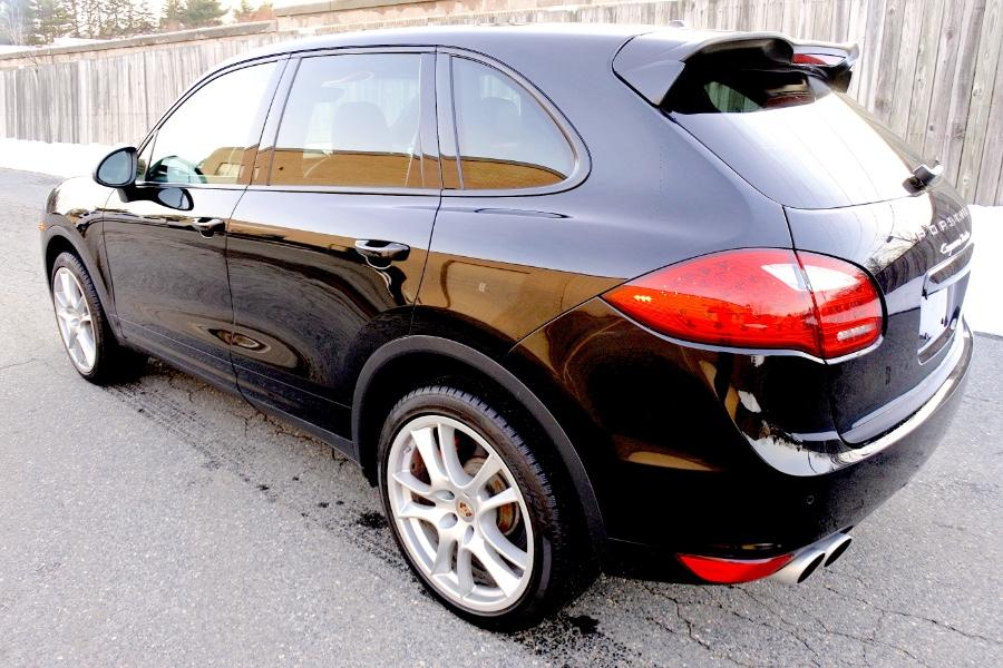 Used 2014 Porsche Cayenne Turbo AWD Used 2014 Porsche Cayenne Turbo AWD for sale  at Metro West Motorcars LLC in Shrewsbury MA 3