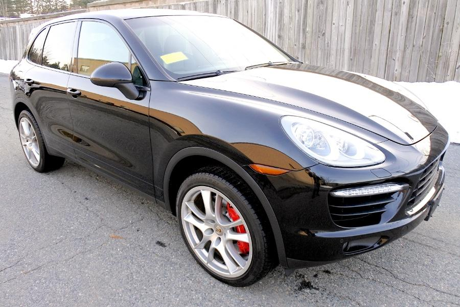 Used 2014 Porsche Cayenne Turbo AWD Used 2014 Porsche Cayenne Turbo AWD for sale  at Metro West Motorcars LLC in Shrewsbury MA 7