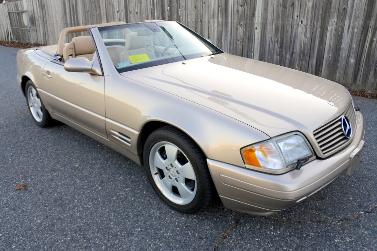 Used 2000 Mercedes-Benz Sl-class 2dr Roadster 5.0L Used 2000 Mercedes-Benz Sl-class 2dr Roadster 5.0L for sale  at Metro West Motorcars LLC in Shrewsbury MA 13