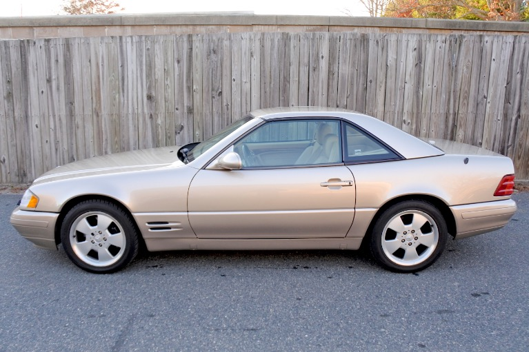 Used 2000 Mercedes-Benz Sl-class 2dr Roadster 5.0L Used 2000 Mercedes-Benz Sl-class 2dr Roadster 5.0L for sale  at Metro West Motorcars LLC in Shrewsbury MA 4