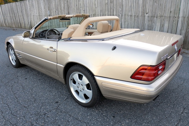 Used 2000 Mercedes-Benz Sl-class 2dr Roadster 5.0L Used 2000 Mercedes-Benz Sl-class 2dr Roadster 5.0L for sale  at Metro West Motorcars LLC in Shrewsbury MA 5