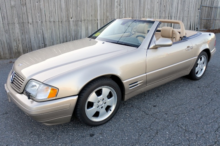 Used 2000 Mercedes-Benz Sl-class 2dr Roadster 5.0L Used 2000 Mercedes-Benz Sl-class 2dr Roadster 5.0L for sale  at Metro West Motorcars LLC in Shrewsbury MA 1