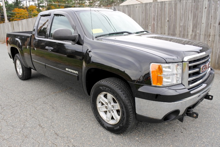 Used 2012 GMC Sierra 1500 4WD Ext Cab 143.5' SLE Used 2012 GMC Sierra 1500 4WD Ext Cab 143.5' SLE for sale  at Metro West Motorcars LLC in Shrewsbury MA 7