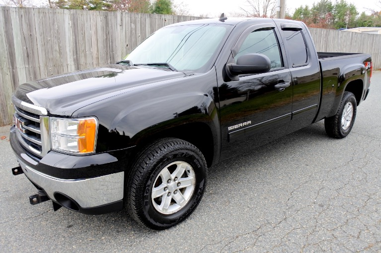 Used Used 2012 GMC Sierra 1500 4WD Ext Cab 143.5' SLE for sale $17,600 at Metro West Motorcars LLC in Shrewsbury MA