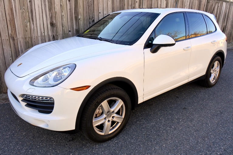 Used 2014 Porsche Cayenne S AWD Used 2014 Porsche Cayenne S AWD for sale  at Metro West Motorcars LLC in Shrewsbury MA 1