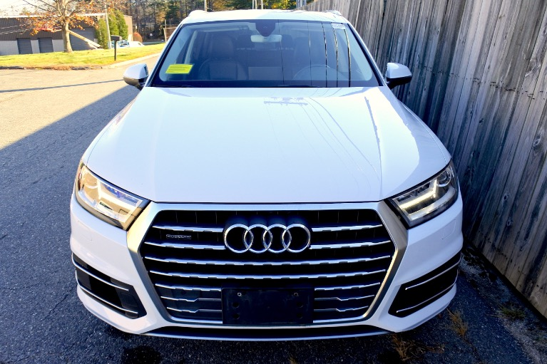 Used 2017 Audi Q7 3.0 TFSI Premium Plus Used 2017 Audi Q7 3.0 TFSI Premium Plus for sale  at Metro West Motorcars LLC in Shrewsbury MA 8