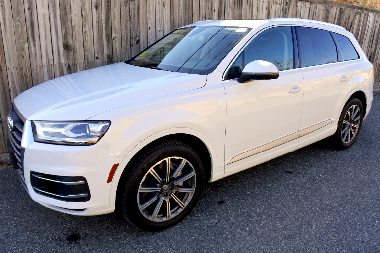 Used 2017 Audi Q7 3.0 TFSI Premium Plus Used 2017 Audi Q7 3.0 TFSI Premium Plus for sale  at Metro West Motorcars LLC in Shrewsbury MA 1