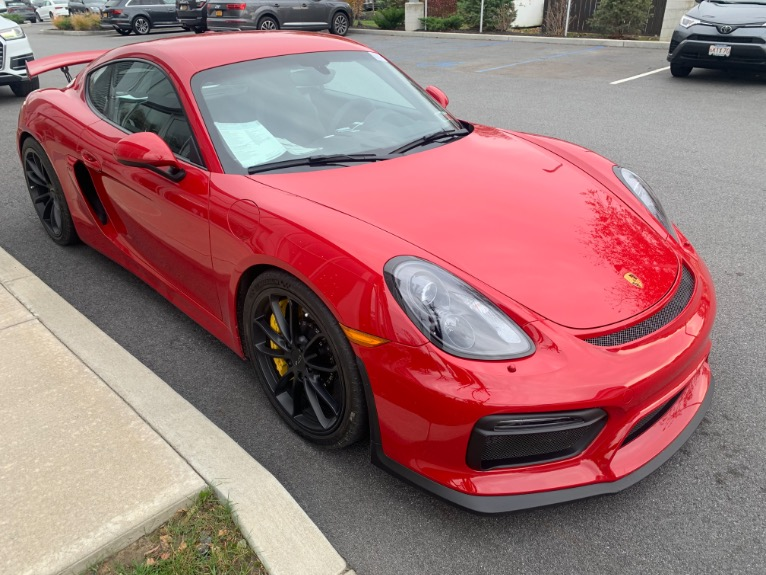 Used 2016 Porsche Cayman 2dr Cpe GT4 Used 2016 Porsche Cayman 2dr Cpe GT4 for sale  at Metro West Motorcars LLC in Shrewsbury MA 5