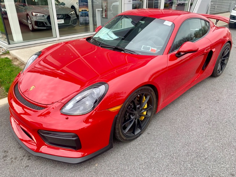 Used 2016 Porsche Cayman 2dr Cpe GT4 Used 2016 Porsche Cayman 2dr Cpe GT4 for sale  at Metro West Motorcars LLC in Shrewsbury MA 1