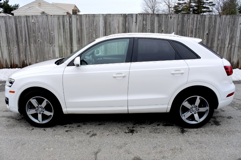 Used 2015 Audi Q3 Quattro 2.0T Prestige Used 2015 Audi Q3 Quattro 2.0T Prestige for sale  at Metro West Motorcars LLC in Shrewsbury MA 2