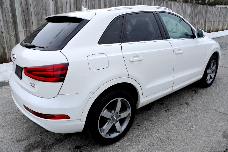 Used 2015 Audi Q3 Quattro 2.0T Prestige Used 2015 Audi Q3 Quattro 2.0T Prestige for sale  at Metro West Motorcars LLC in Shrewsbury MA 5