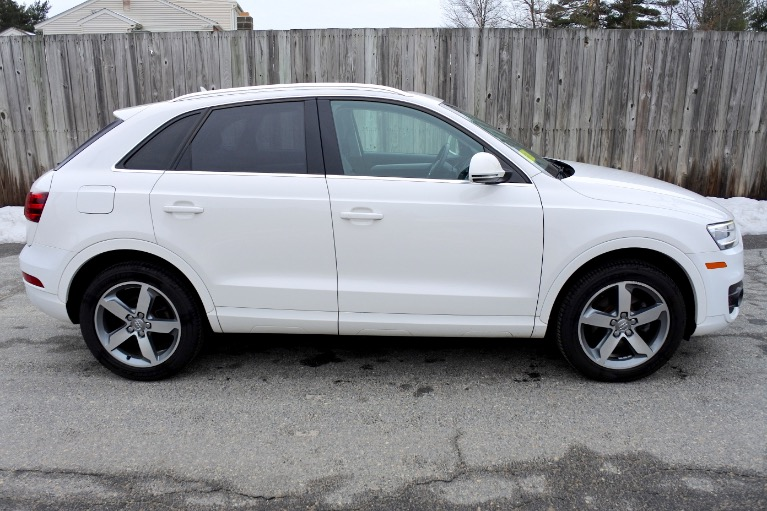 Used 2015 Audi Q3 Quattro 2.0T Prestige Used 2015 Audi Q3 Quattro 2.0T Prestige for sale  at Metro West Motorcars LLC in Shrewsbury MA 6