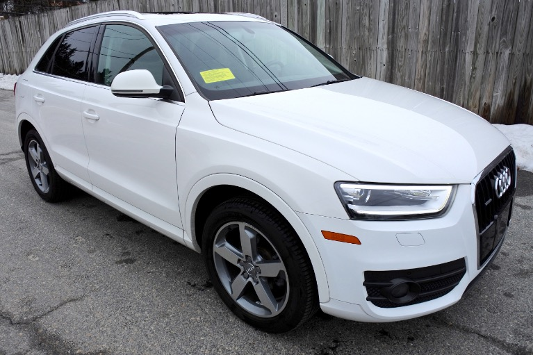 Used 2015 Audi Q3 Quattro 2.0T Prestige Used 2015 Audi Q3 Quattro 2.0T Prestige for sale  at Metro West Motorcars LLC in Shrewsbury MA 7