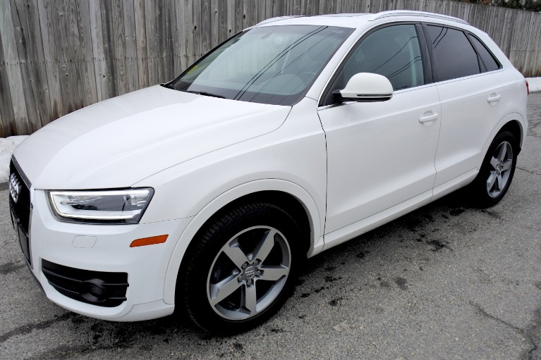 Used Used 2015 Audi Q3 Quattro 2.0T Prestige for sale $17,900 at Metro West Motorcars LLC in Shrewsbury MA