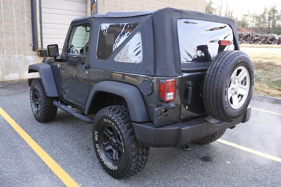Used 2010 Jeep Wrangler 4WD 2dr Sport Used 2010 Jeep Wrangler 4WD 2dr Sport for sale  at Metro West Motorcars LLC in Shrewsbury MA 4