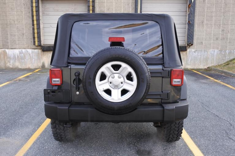 Used 2010 Jeep Wrangler 4WD 2dr Sport Used 2010 Jeep Wrangler 4WD 2dr Sport for sale  at Metro West Motorcars LLC in Shrewsbury MA 5
