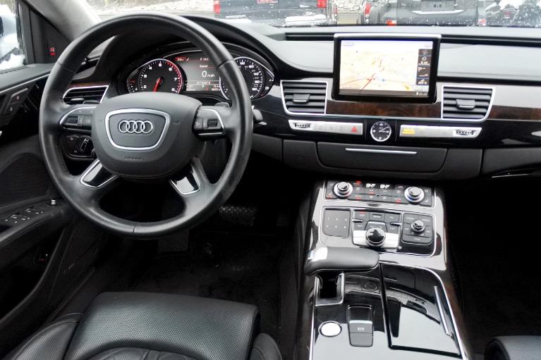 Used 2015 Audi A8 l 4.0L Quattro Used 2015 Audi A8 l 4.0L Quattro for sale  at Metro West Motorcars LLC in Shrewsbury MA 10