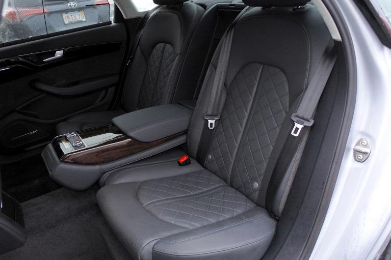 Used 2015 Audi A8 l 4.0L Quattro Used 2015 Audi A8 l 4.0L Quattro for sale  at Metro West Motorcars LLC in Shrewsbury MA 14