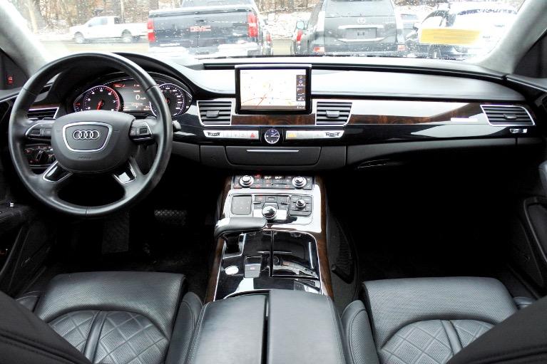 Used 2015 Audi A8 l 4.0L Quattro Used 2015 Audi A8 l 4.0L Quattro for sale  at Metro West Motorcars LLC in Shrewsbury MA 9