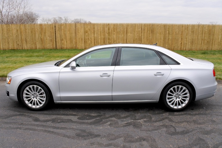 Used 2013 Audi A8 l 4.0L Quattro Used 2013 Audi A8 l 4.0L Quattro for sale  at Metro West Motorcars LLC in Shrewsbury MA 2
