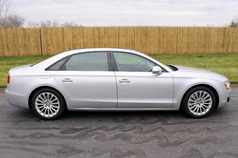 Used 2013 Audi A8 l 4.0L Quattro Used 2013 Audi A8 l 4.0L Quattro for sale  at Metro West Motorcars LLC in Shrewsbury MA 6