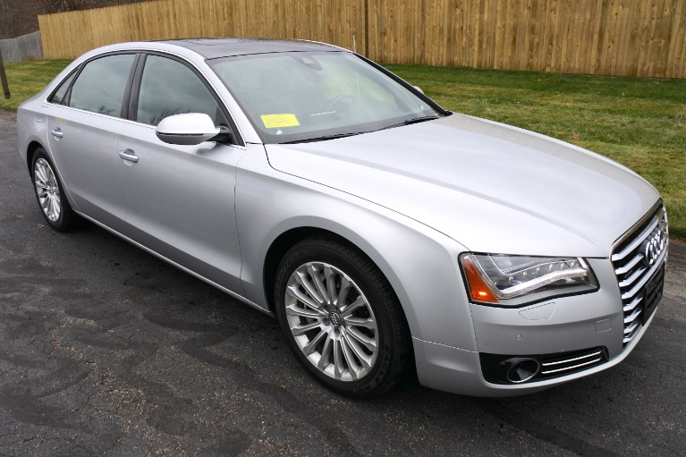 Used 2013 Audi A8 l 4.0L Quattro Used 2013 Audi A8 l 4.0L Quattro for sale  at Metro West Motorcars LLC in Shrewsbury MA 7