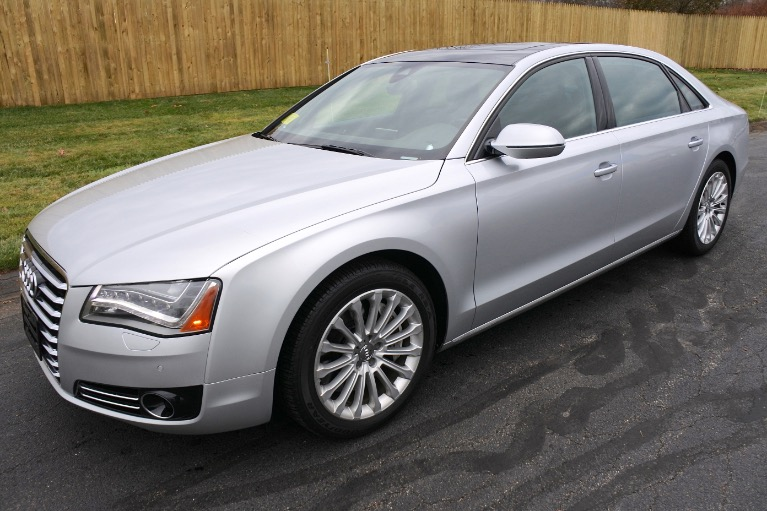 Used Used 2013 Audi A8 L 4.0L Quattro for sale $19,800 at Metro West Motorcars LLC in Shrewsbury MA