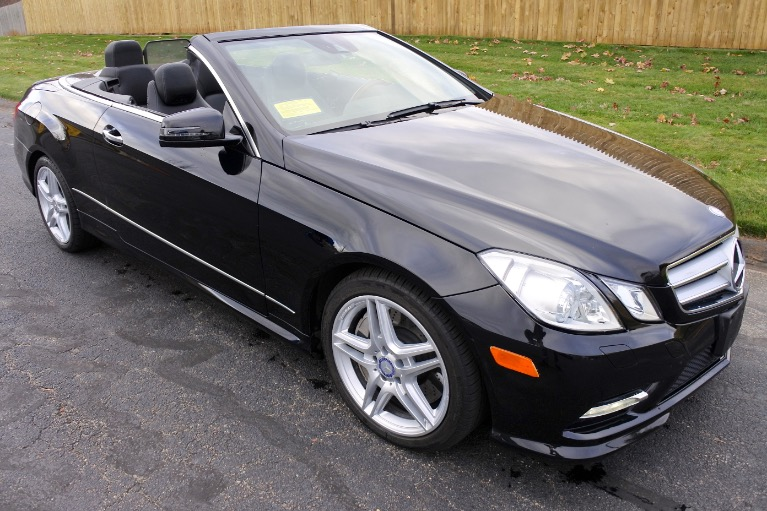 Used 2013 Mercedes-Benz E-class E550 Cabriolet Used 2013 Mercedes-Benz E-class E550 Cabriolet for sale  at Metro West Motorcars LLC in Shrewsbury MA 13