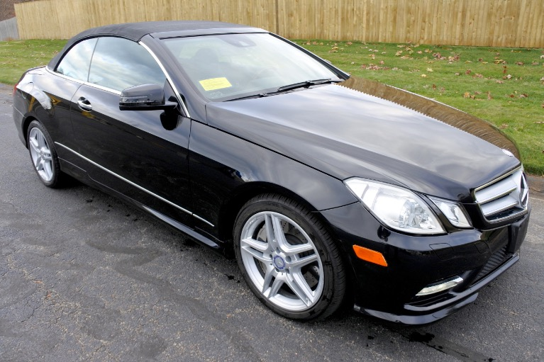 Used 2013 Mercedes-Benz E-class E550 Cabriolet Used 2013 Mercedes-Benz E-class E550 Cabriolet for sale  at Metro West Motorcars LLC in Shrewsbury MA 14