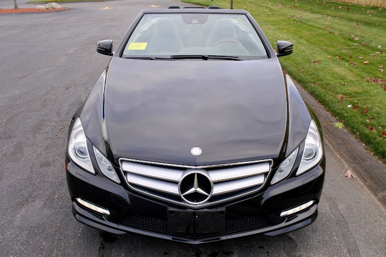 Used 2013 Mercedes-Benz E-class E550 Cabriolet Used 2013 Mercedes-Benz E-class E550 Cabriolet for sale  at Metro West Motorcars LLC in Shrewsbury MA 15