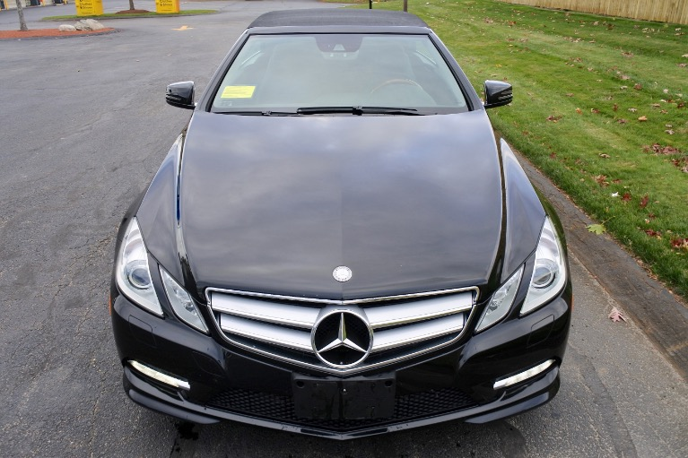 Used 2013 Mercedes-Benz E-class E550 Cabriolet Used 2013 Mercedes-Benz E-class E550 Cabriolet for sale  at Metro West Motorcars LLC in Shrewsbury MA 16