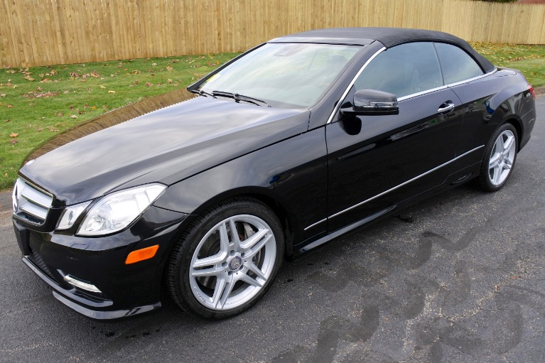 Used 2013 Mercedes-Benz E-class E550 Cabriolet Used 2013 Mercedes-Benz E-class E550 Cabriolet for sale  at Metro West Motorcars LLC in Shrewsbury MA 2