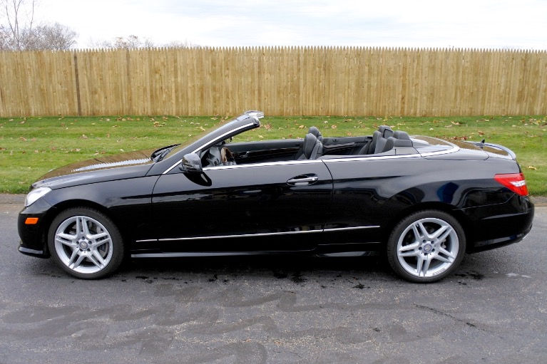 Used 2013 Mercedes-Benz E-class E550 Cabriolet Used 2013 Mercedes-Benz E-class E550 Cabriolet for sale  at Metro West Motorcars LLC in Shrewsbury MA 3