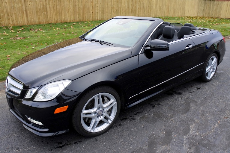 Used Used 2013 Mercedes-Benz E-class E550 Cabriolet for sale $29,900 at Metro West Motorcars LLC in Shrewsbury MA