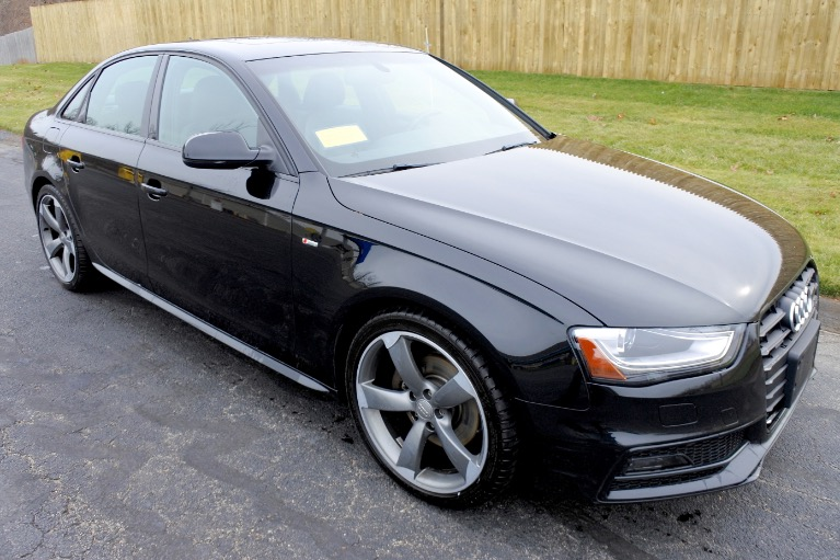Used 2015 Audi A4 2.0T Premium Plus S Line Quattro Used 2015 Audi A4 2.0T Premium Plus S Line Quattro for sale  at Metro West Motorcars LLC in Shrewsbury MA 8