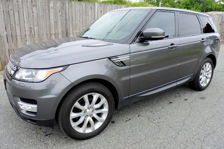 Used Used 2015 Land Rover Range Rover Sport HSE for sale $34,990 at Metro West Motorcars LLC in Shrewsbury MA