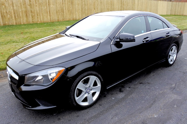 Used Used 2016 Mercedes-Benz Cla 4dr Sdn CLA 250 4MATIC for sale $18,800 at Metro West Motorcars LLC in Shrewsbury MA